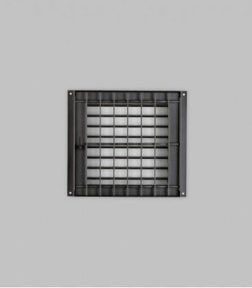 Deckengitter 23 x 23, schwarz