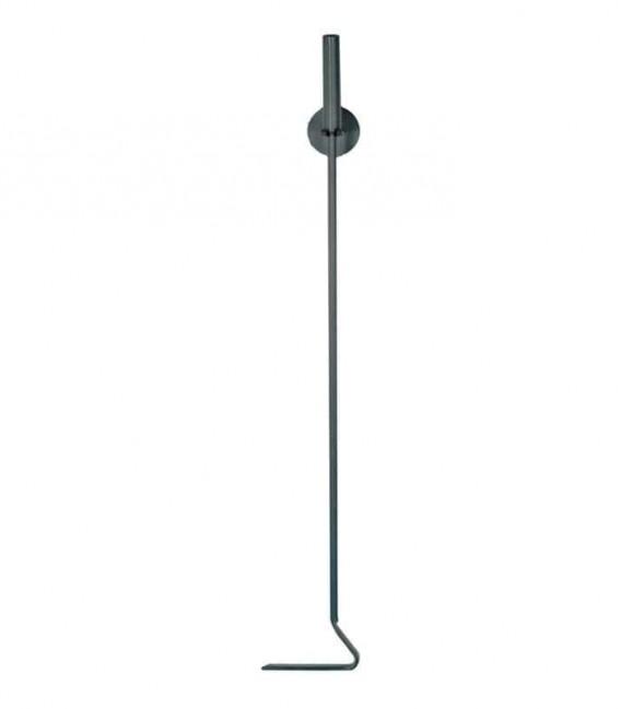 Schürhaken steingrau, L 72 cm