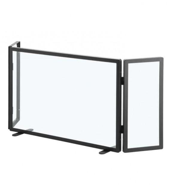 Funkenschutz aus Glas, 3-teilig