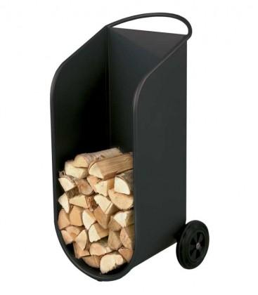 Fahrbarer Holzwagen, gebogen