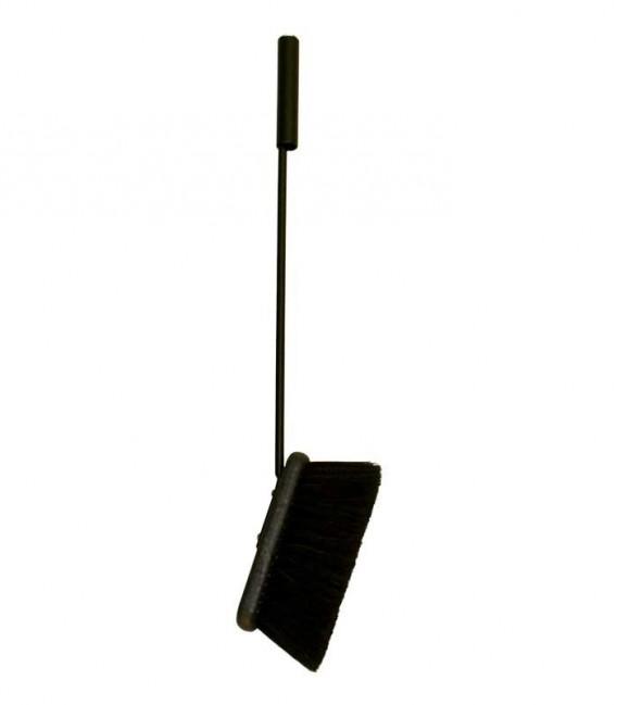 Kaminbesen schwarz, L 57 cm