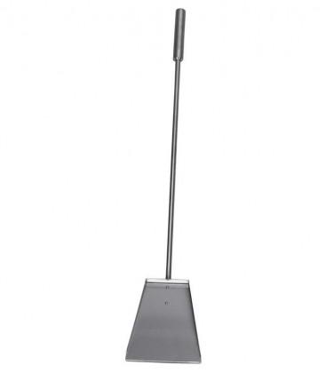 Kaminschaufel aus Edelstahl, L 70 cm