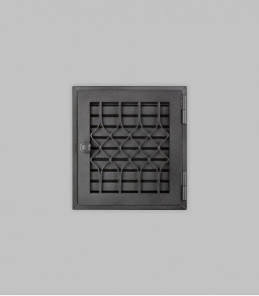Röhrtür FLANDERN 1-türig 23 x 26, schwarz
