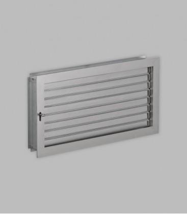 Ventilation 46 x 23, Edelstahl