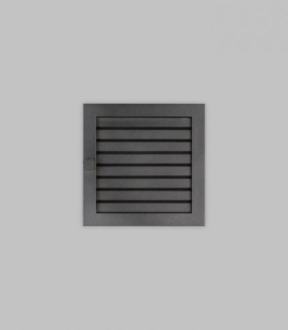 Ventilation 23 x 23, schwarz
