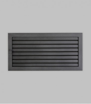 Ventilation 45 x 23, schwarz