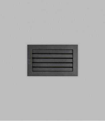 Ventilation 25 x 15, schwarz