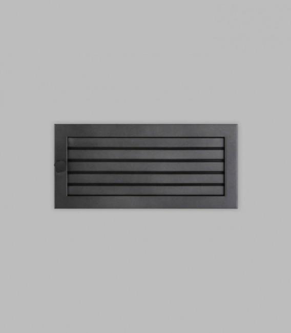 Ventilation 35 x 16, schwarz