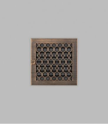Ventilation TESSIN 23 x 23, terra bronce