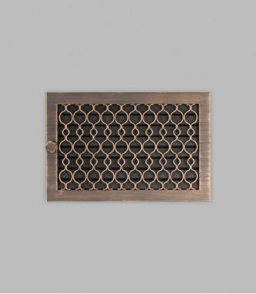Ventilation TESSIN 35 x 23, terra bronce