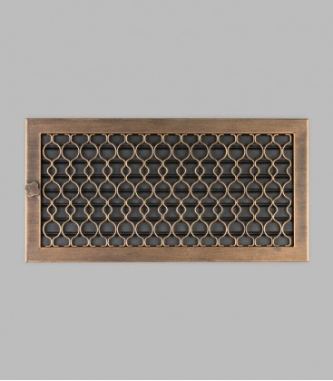 Ventilation TESSIN 45 x 23, terra bronce