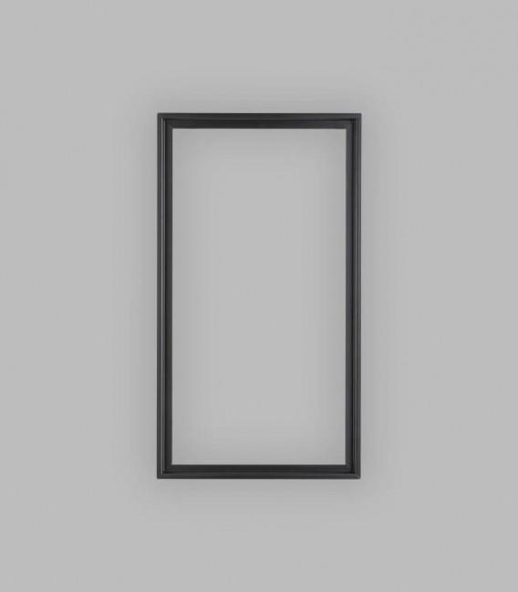 Einbauzarge schwarz, Schlupfmaß 40 x 77,5