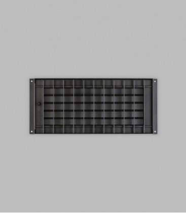 Deckengitter 35 x 16, schwarz