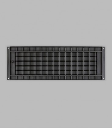 Deckengitter 46 x 16, schwarz