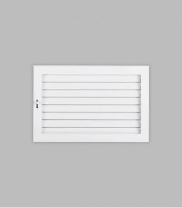 Ventilation putzbündig 35 x 23, reinweiß