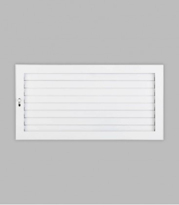 Ventilation putzbündig 45 x 23, reinweiß