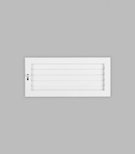Ventilation putzbündig 35 x 16, reinweiß