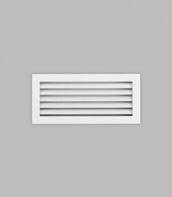 Lüftungsgitter 35 x 16, reinweiß