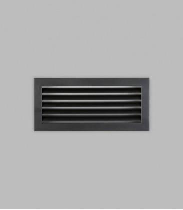 Lüftungsgitter 35 x 16, schwarz